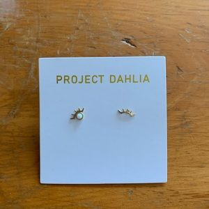 Project Dahlia Pierced Winky Earrings